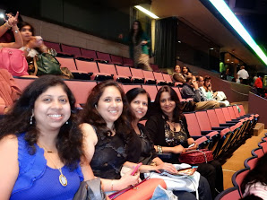 Me, G, Bhakti and Meghna
