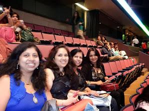 Me, G, Bhakti and Meghna