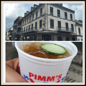 Napoleon House and Pimms Cup
